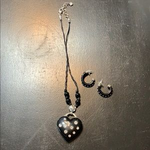 Brighton necklace and earrings